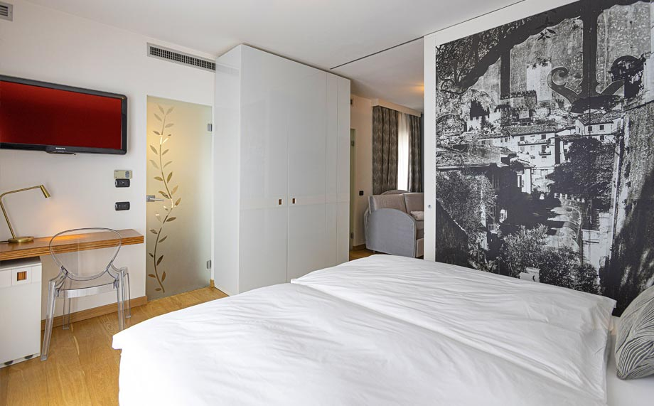 Junior Suite in Hotel Capri Malcesine